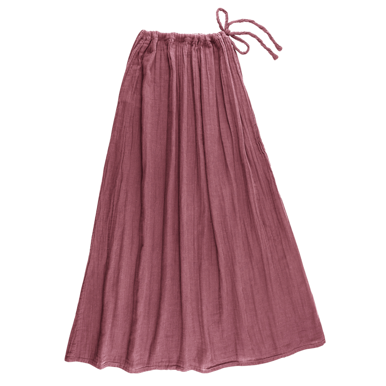 Numero 74 Ava Mum Long Skirt Baobab Rose