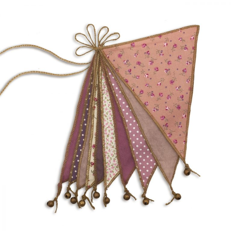 Numero 74 Bunting Mix Pink