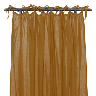 Numero 74 Gathered Curtain Plain Gold