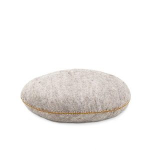 Muskhane Smartie Cushion Light Stone