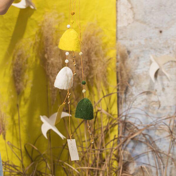 Muskhane Wind Bell Olive