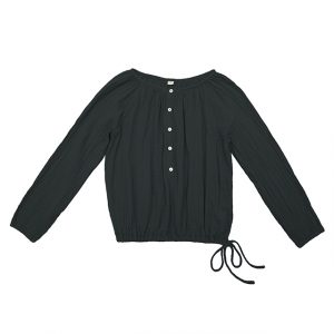 Numero 74 Naia Mum Shirt Dark Grey
