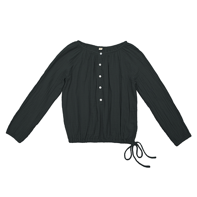 Numero 74 Naia Mum Shirt Dark Grey