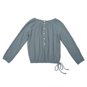 Numero 74 Naia Mum Shirt Ice Blue