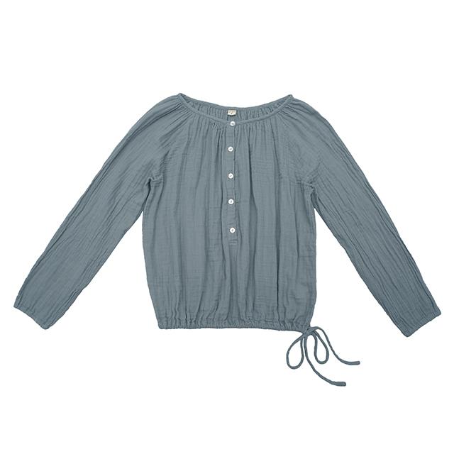Numero 74 Naia Mum Shirt Ice Blue