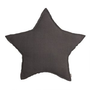 Numero 74 Star Cushion Small Dots Taupe