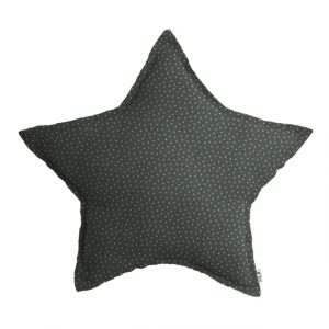 Numero 74 Star Cushion Stars Blue Ice