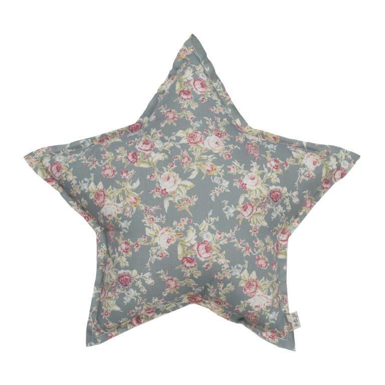 Numero 74 Star Cushion Small Josephine Silver Grey