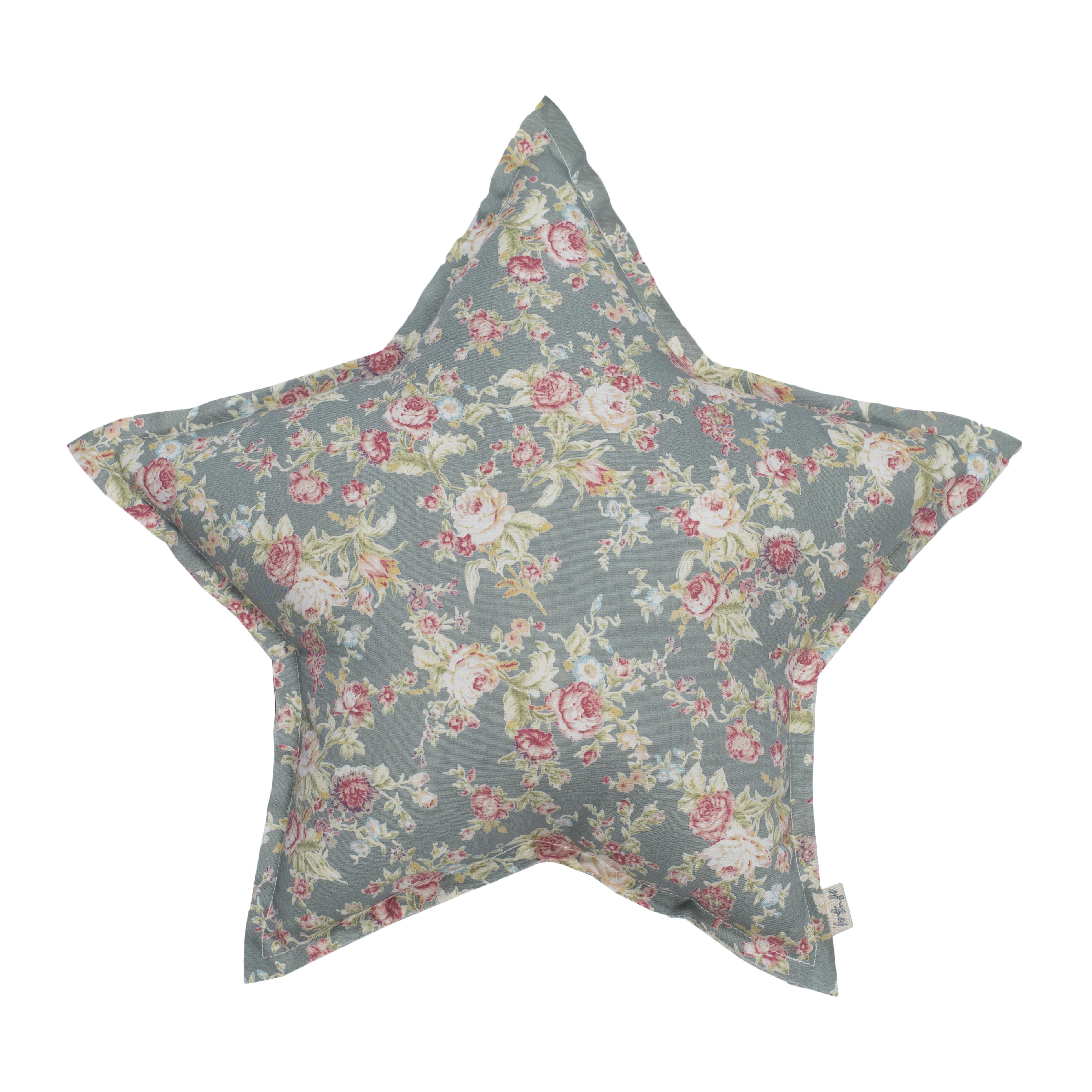 Numero 74 Star Cushion Josephine Silver Grey