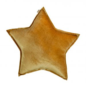 Numero 74 Star Cushion Velvet Gold