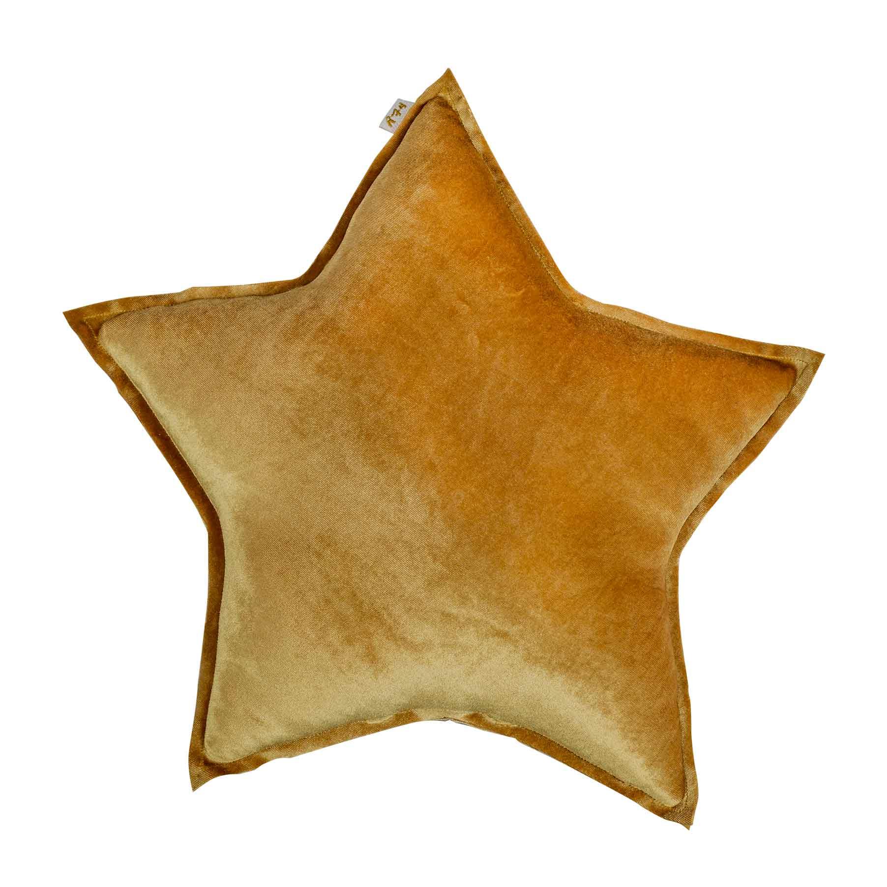 Numero 74 Star Cushion Velvet Gold