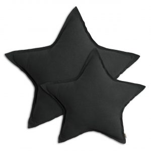 Numero 74 Star Cushion Dark Grey