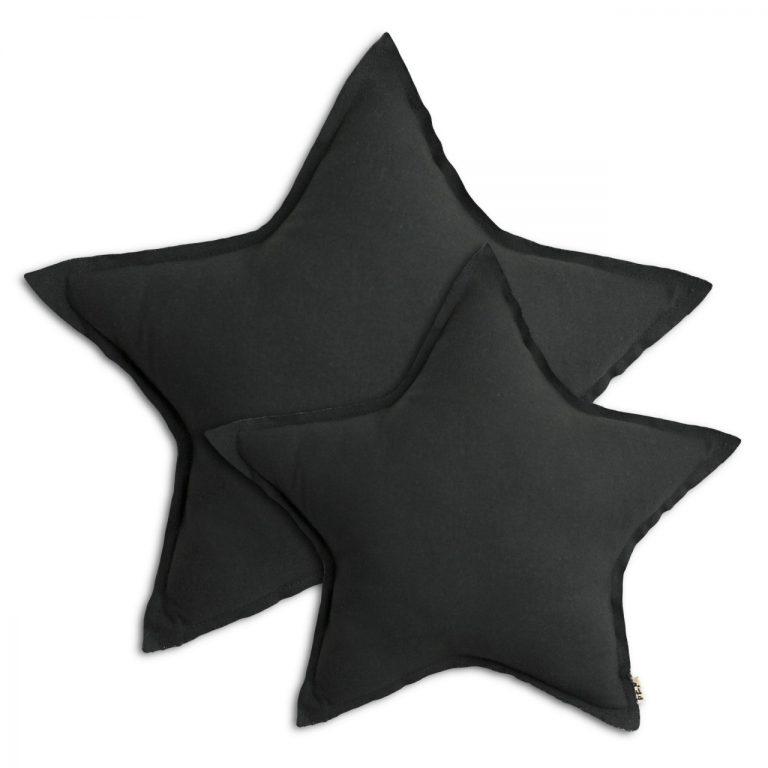 Numero 74 Star Cushion Dark Grey