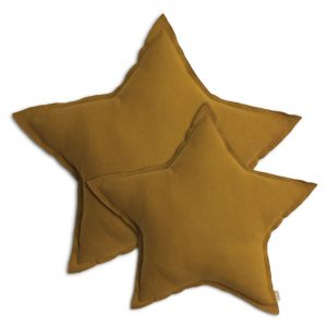Numero 74 Star Cushion Gold