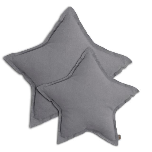 Numero 74 Star Cushion Stone Grey