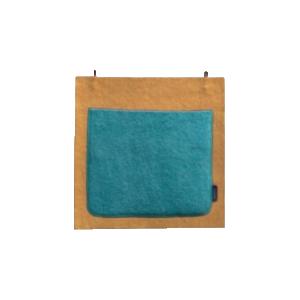 Muskhane Wall Pocket Single Pollen/Granite