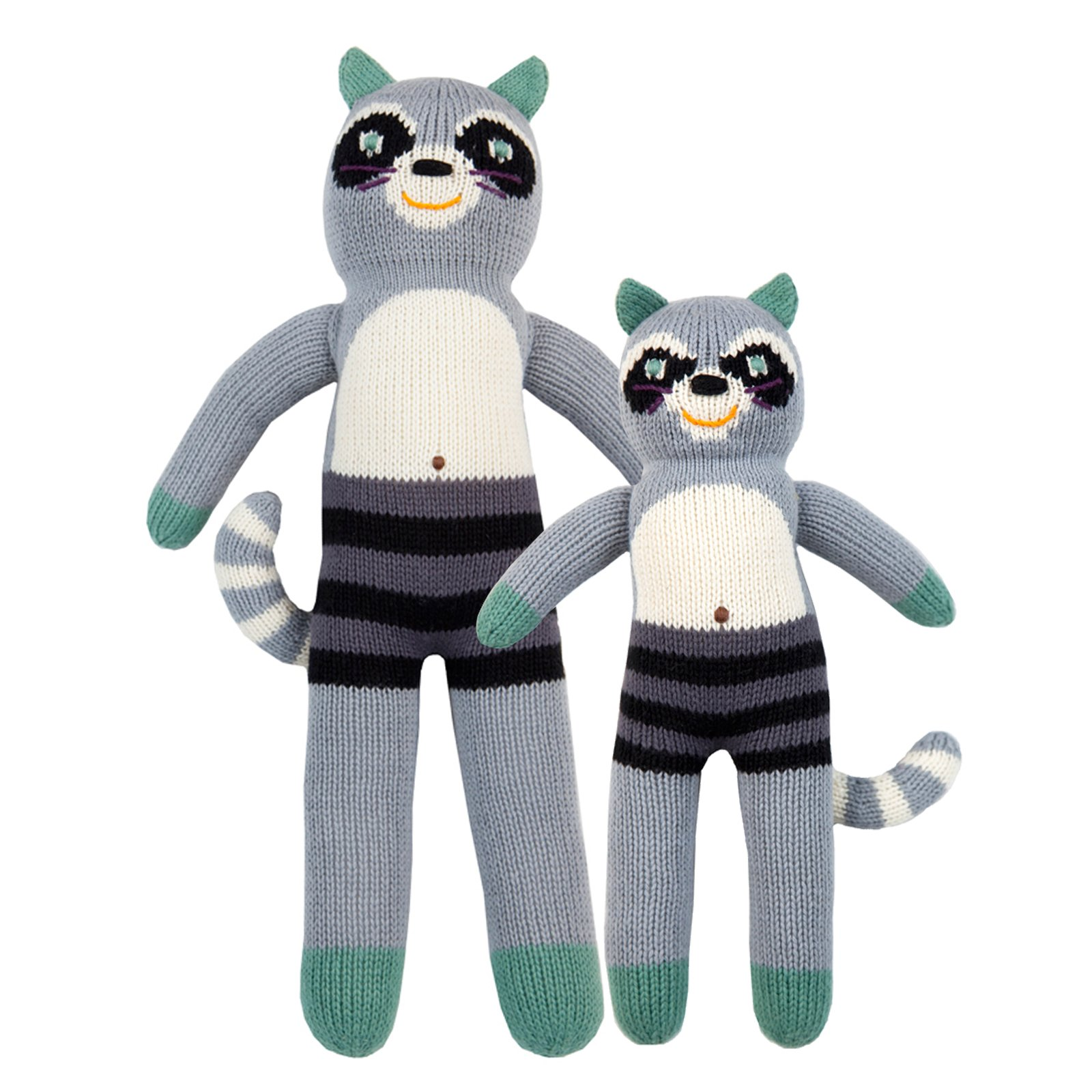 Blabla Bandit The Racoon Big Knitted Toy