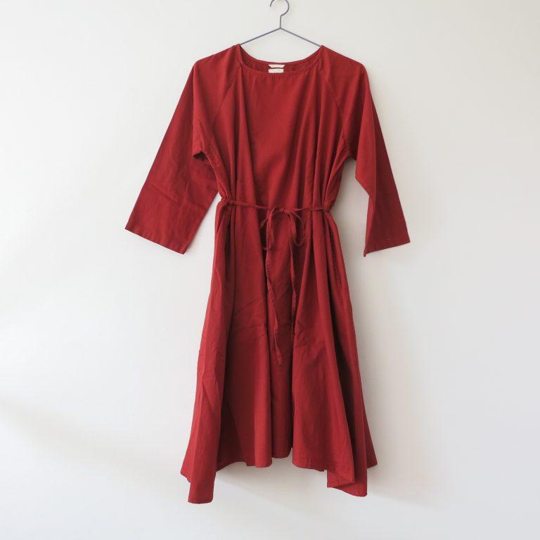 Kin Womens Dervish Dress Rust