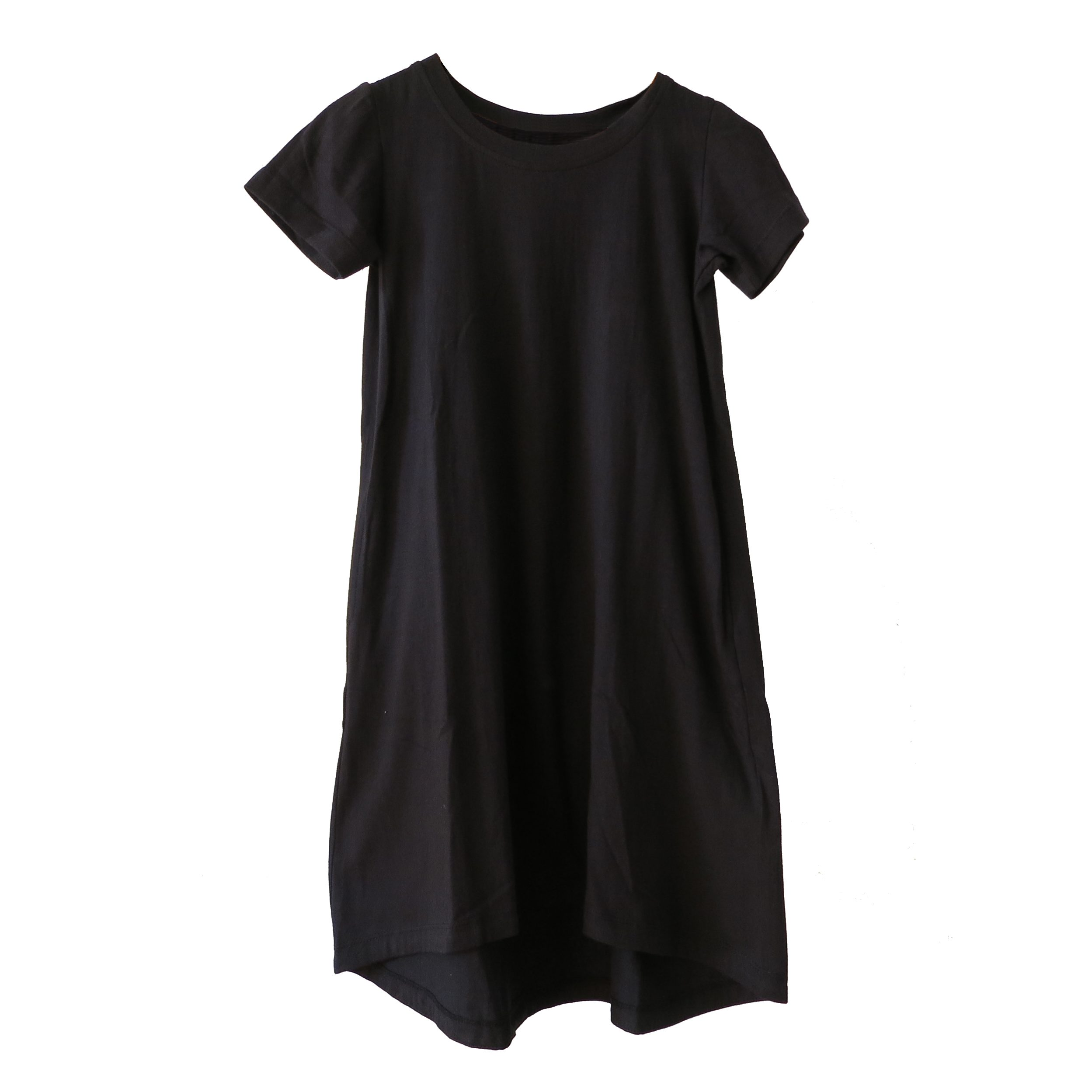 Kin Crew Neck Pod Dress Black