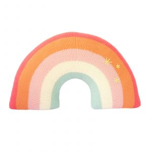 Blabla Rainbow Pillow Pink