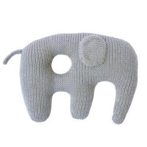 Blabla Jumbo Rattle Elephant Grey