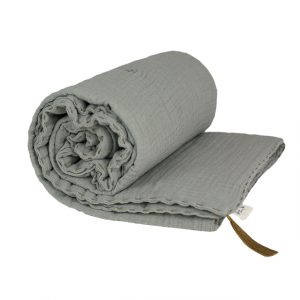 Numero 74 Winter Blanket Silver Grey