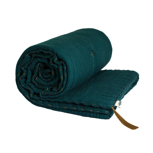 Numero 74 Winter Blanket Teal