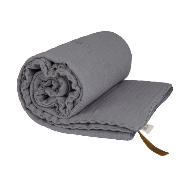 Numero 74 Winter Blanket Stone Grey