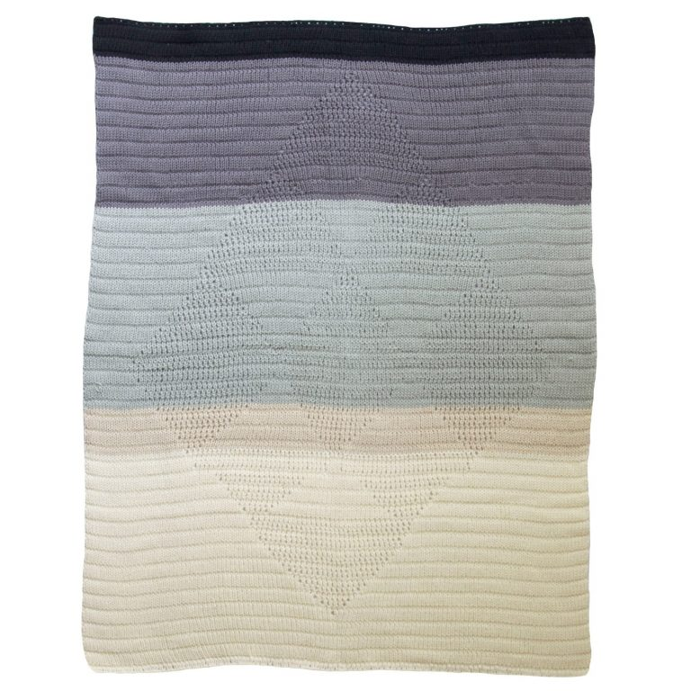 Blabla Diamond Blanket Iceland Grey