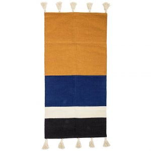 Bloomingville Rug Cotton With Tassels 120x60cm
