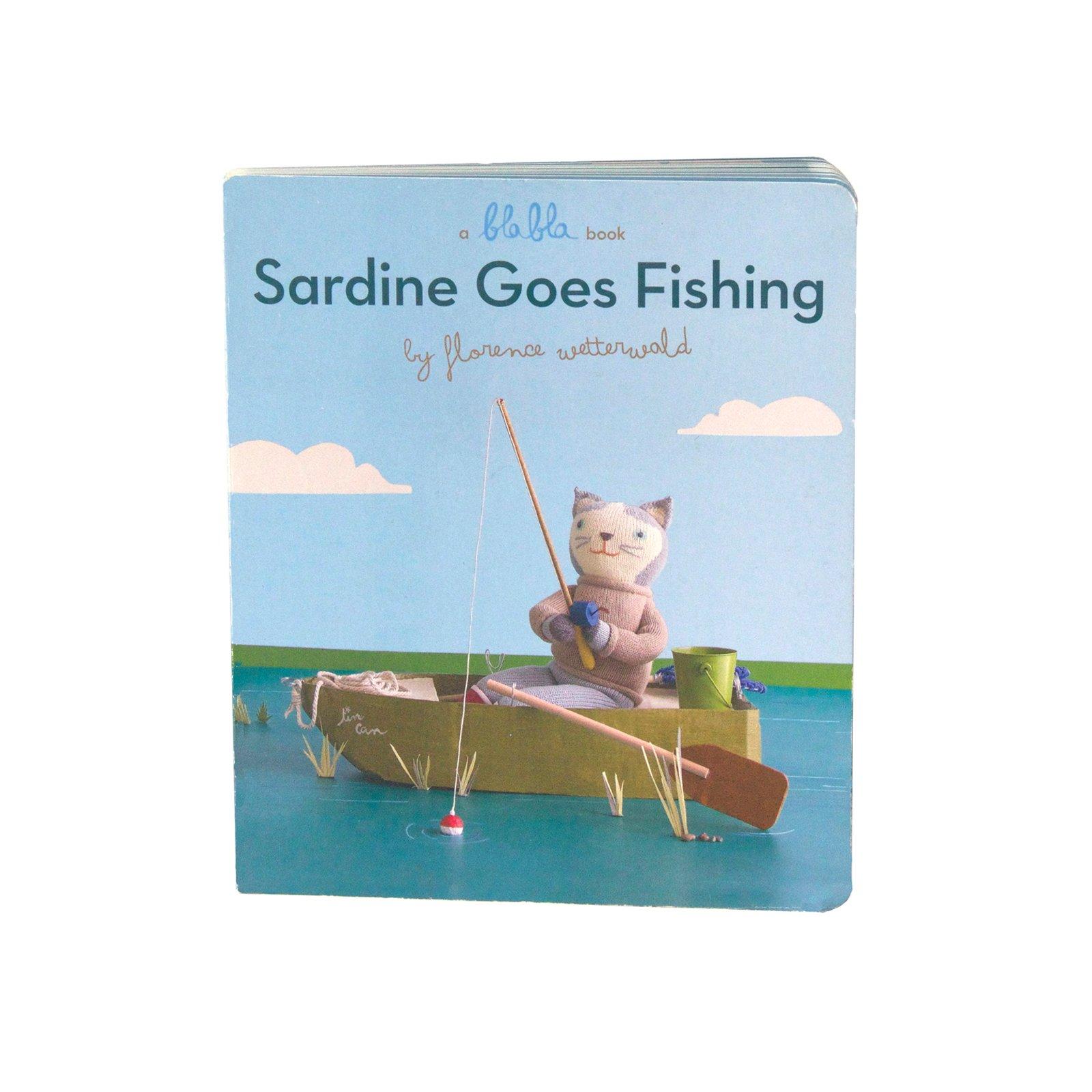Blabla Sardine Goes Fishing Book