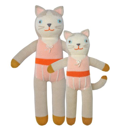 Blabla Colette The Cat Big Knitted Toy