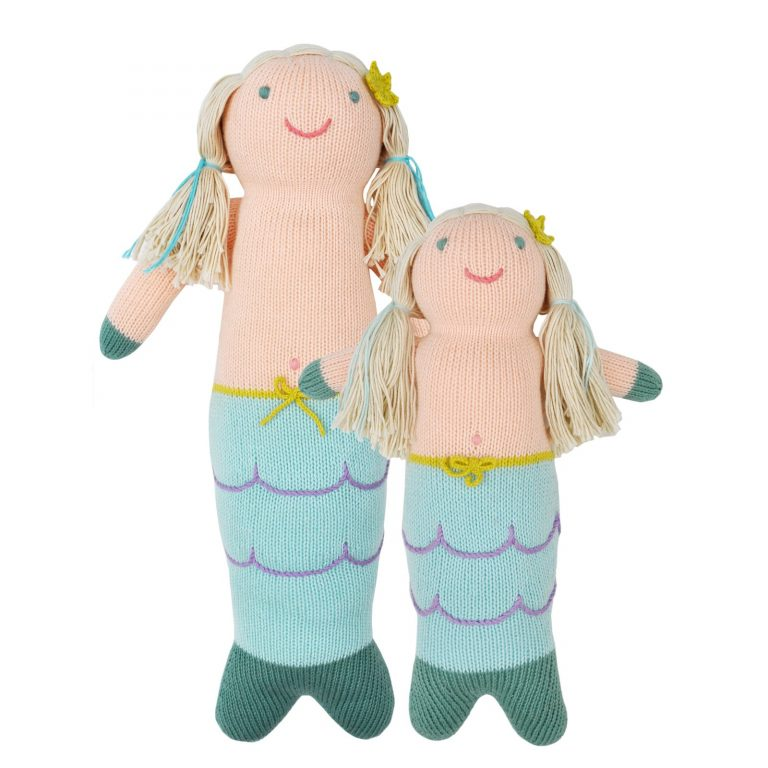 Blabla Harmony The Mermaid Big Knitted Toy