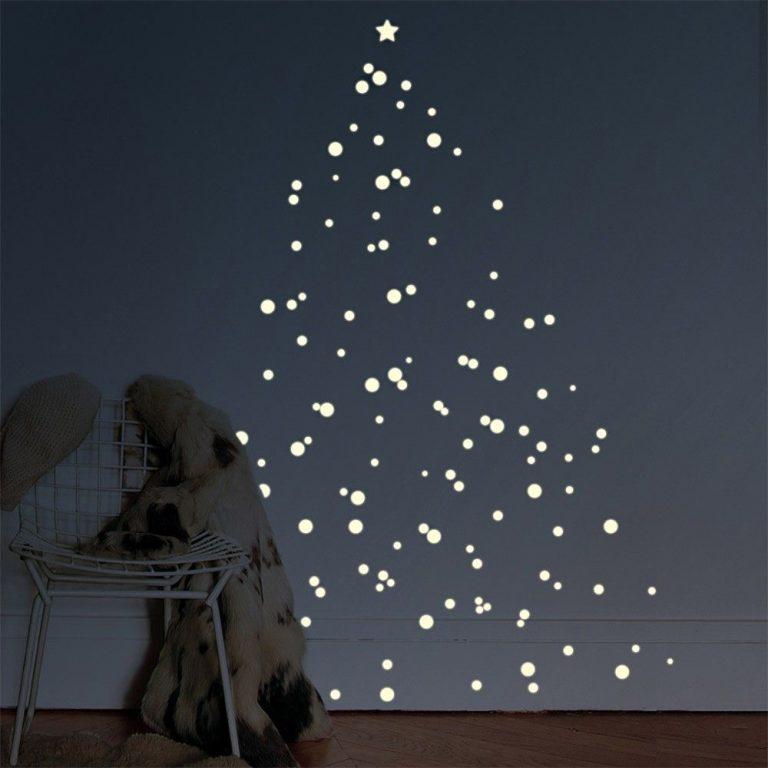 Mimi'lou Glow in the Dark DIY Christmas Tree