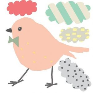 Mimi'lou Mini Stickers Birdy