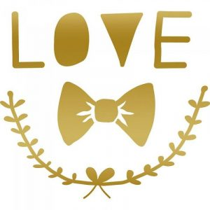 Mimi'lou Mini Decal Love
