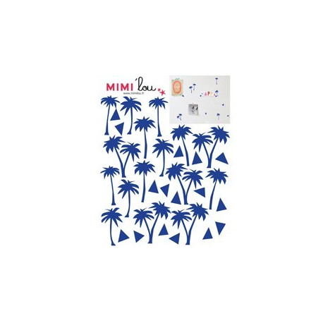 Mimi'lou Just a Touch Palm Trees Decal