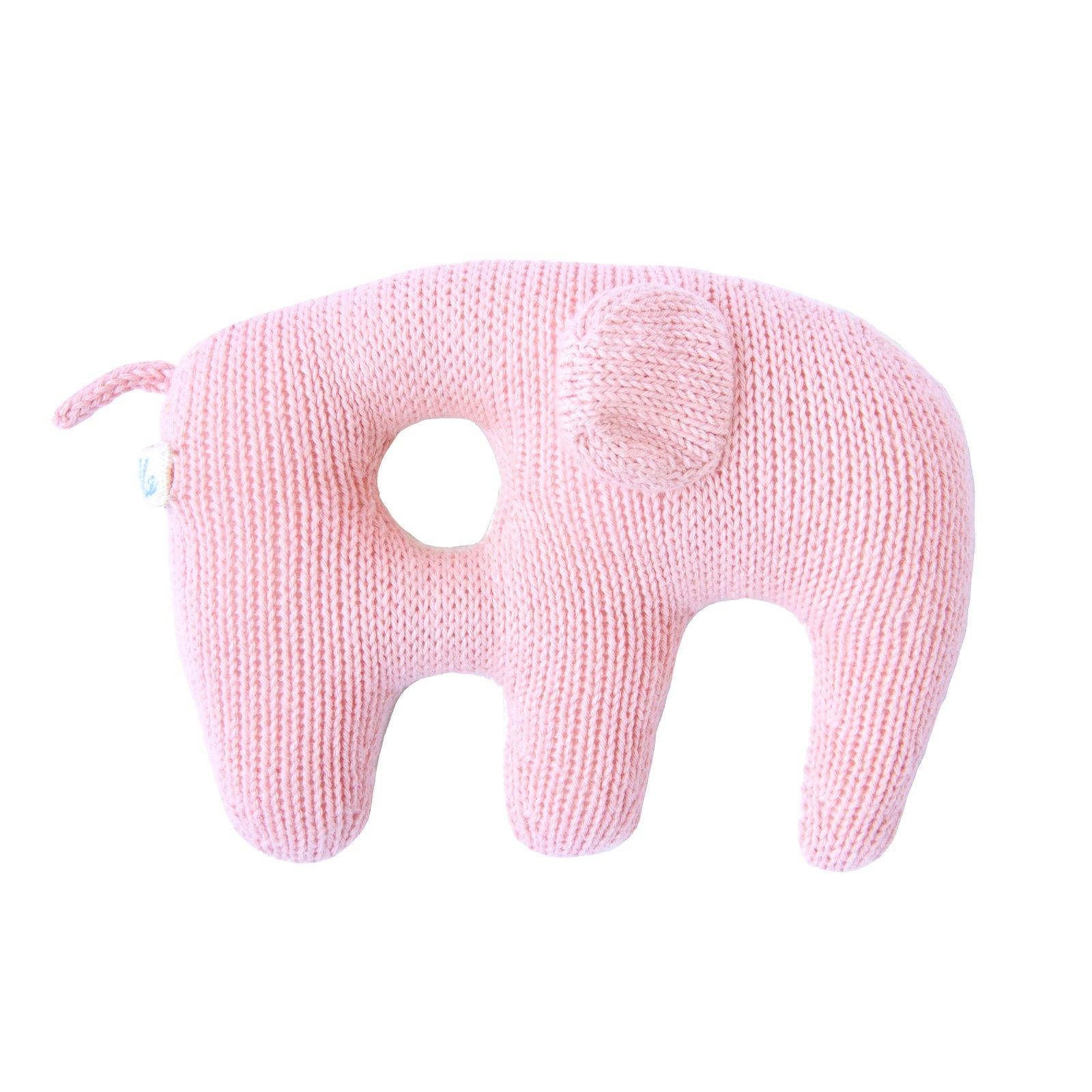 Blabla Jumbo Rattle Elephant Pink
