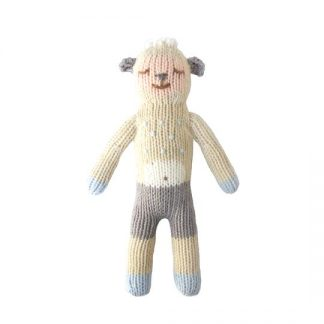 Blabla Wooly The Sheep Knitted Rattle
