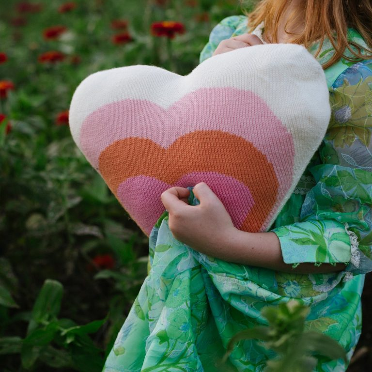 Blabla Heart Pillow