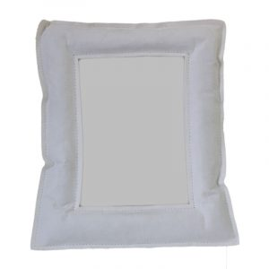 Essent'ial Small White Photo Frame