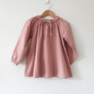 Kin Gathered Lapland Shirt Dusty Pink