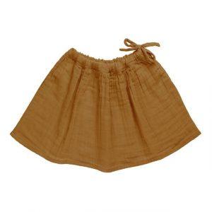 Numero 74 Ava Midi Skirt Gold