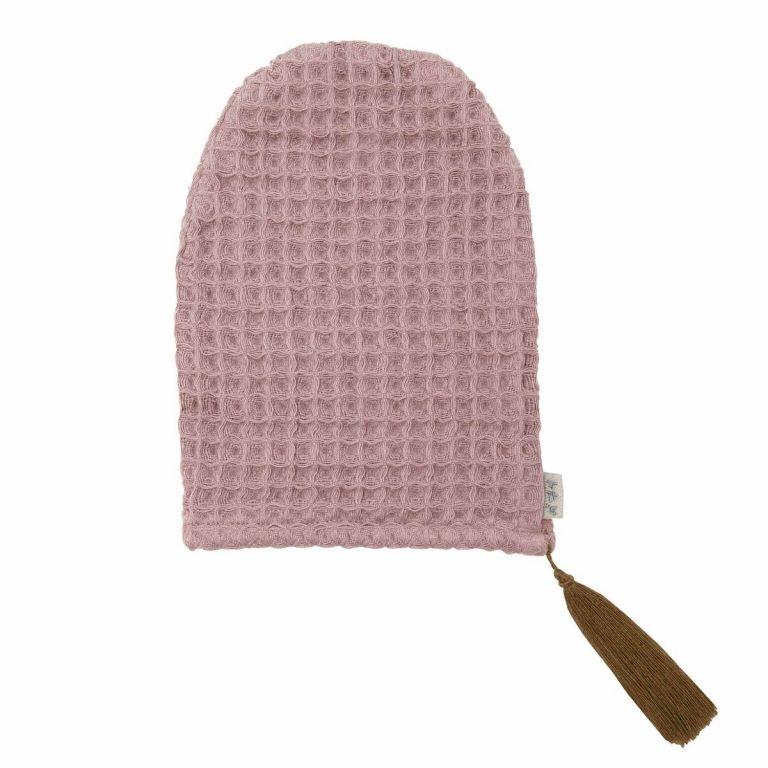Numero 74 Bath Glove Dusty Pink