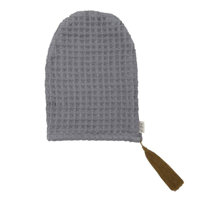 Numero 74 Bath Glove Stone Grey