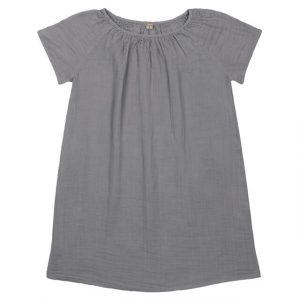 Numero 74 Clara Mum Dress Stone Grey