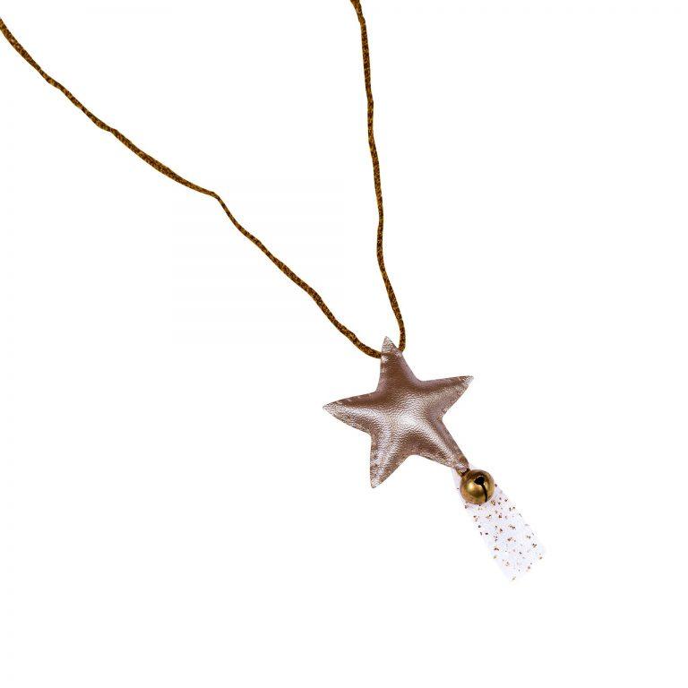 Numero 74 Iridescent Star Necklace