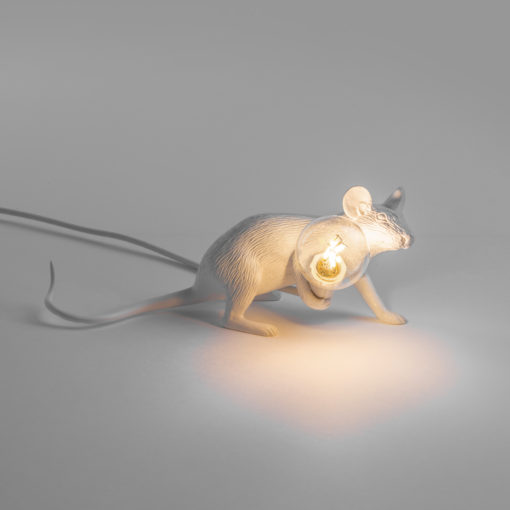 Seletti Mouse Lamp Lying Down