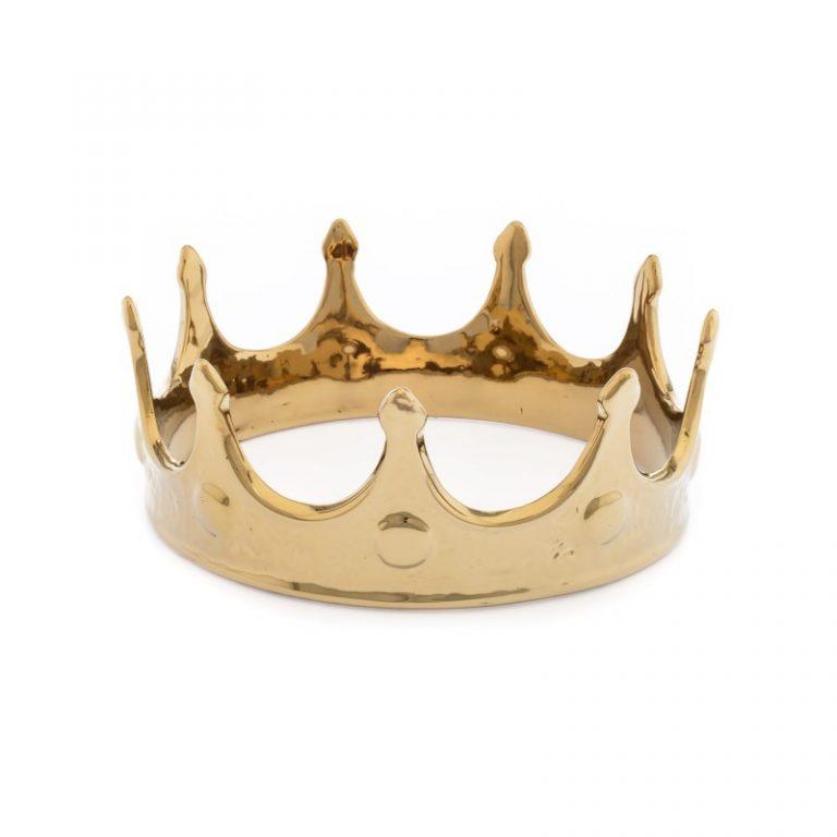 Seletti Memorabilia My Crown Gold