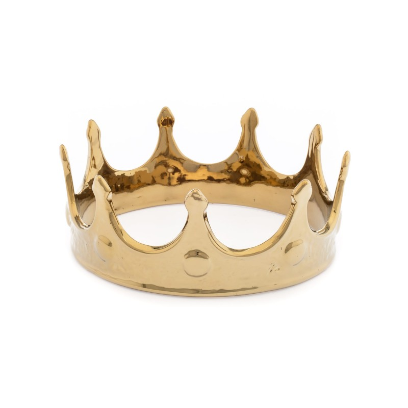 Seletti Memorabilia My Crown Gold Kid
